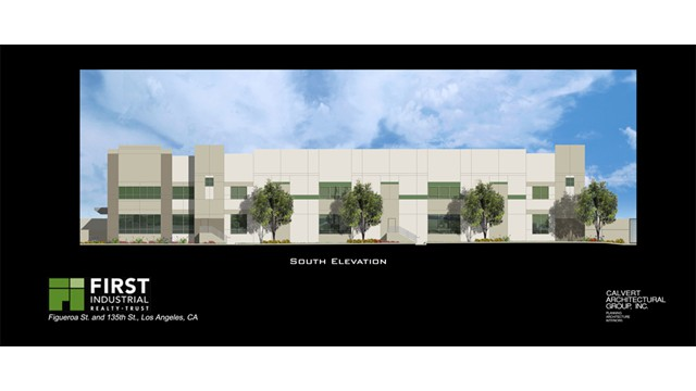 First Industrial South Exterior Elevations