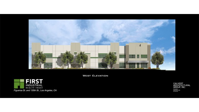 First Industrial West Exterior Elevations